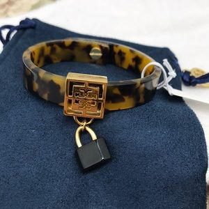 Tory Burch handcuff bracelet